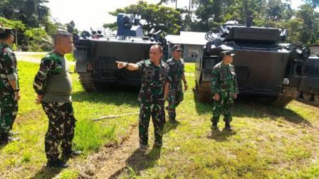 Danpasmar 3 Kunjungi Mako Brigif-4 Marinir Sorong