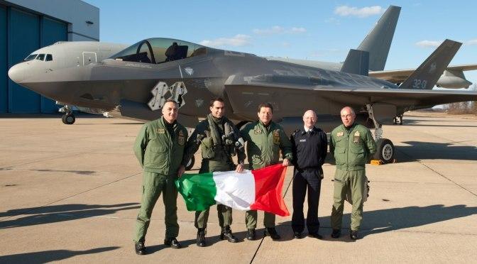 Italia Tidak Akan Beli Pesawat Tempur F-35 Lagi