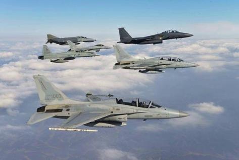 FA-50 Soaring Eagle. (Image © ROKAF)