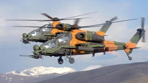 Helikopter Serang T129 ATAK