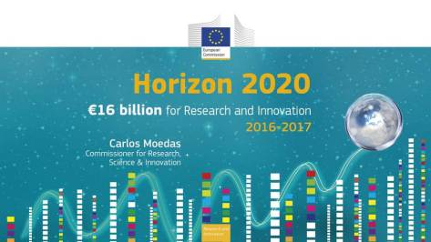 Horizon 2020 work programme for 2016-2017 published (European Commission)