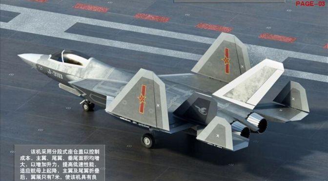 China Kembangkan Jet Tempur Baru Untuk Ditempatkan di Kapal Induk