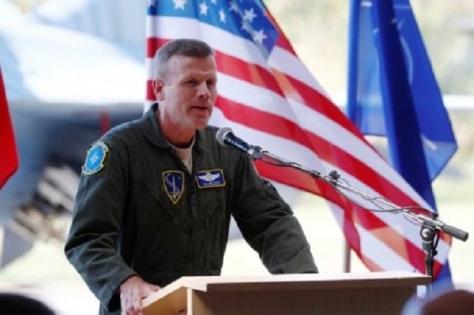 Jenderal Tod Wolters, komandan pasukan Angkatan Udara AS dan NATO di Eropa. REUTERS
