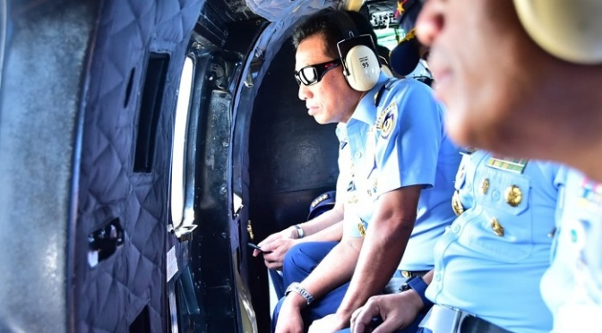 Kasau Saksikan Latihan Penembakan Udara ke Darat Sukhoi Su-27/ 30