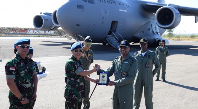 Keberangkatan Pesawat C-17 Globemaster India ke Darwin