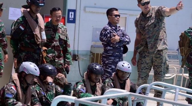 Komandan Gugus Tugas RIMPAC 2018 Kunjungi Marinir