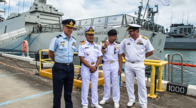 Dua KRI TNI AL Siap Ikuti Latma RIMPAC 2018