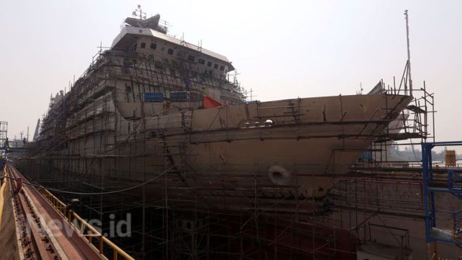 Progres Pembangunan LPD 124 M Pesanan TNI AL (Photo) Part 2