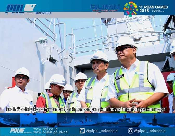 PT PAL Siap Penuhi Kebutuhan Alutsista TNI