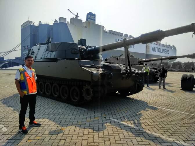 Angkatan Darat Diperkuat dengan 36 unit SPH M109
