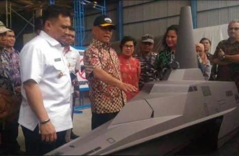 Menhan cek tank boat PT Lundin Industry Invest. (Berita Jatim)
