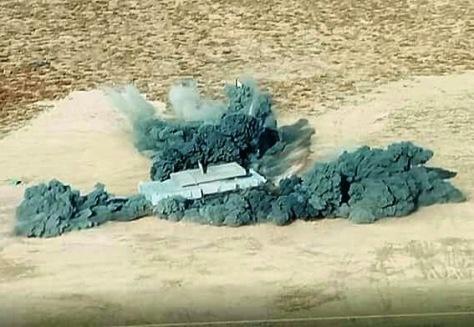 Mine blast testing tank medium Pindad-FNSS (IMF)