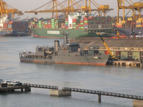 Offshore Patrol Vessel SLNS Sayura (P 620) - Sri Lanka Navy (Wiki)