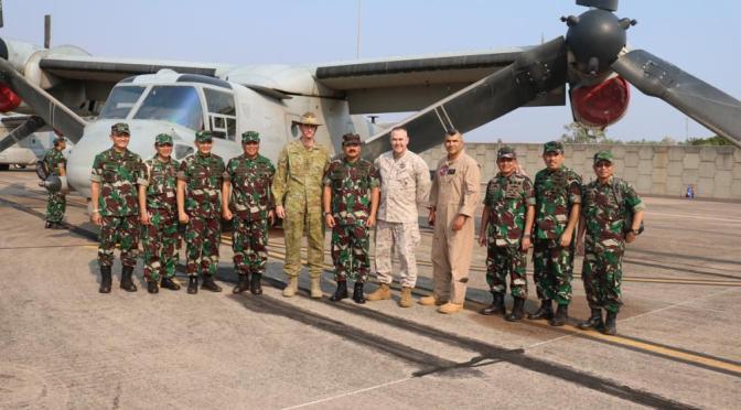 Panglima TNI Saksikan Kedatangan F-16 TNI AU di Darwin