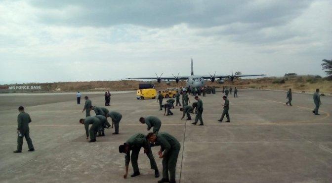 Angkatan Udara India Tiba di Lanud El Tari Kupang