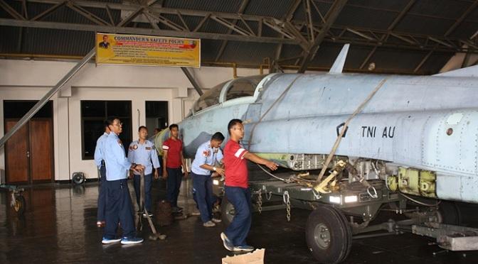 Perjalanan F-5 Tiger TNI AU Hingga Menjadi Monumen
