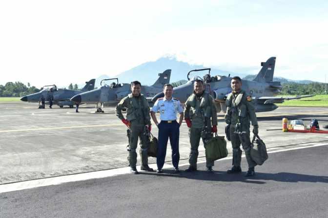 """Hawk TNI AU Laksanakan Misi """"Elang Jelajah"""""""