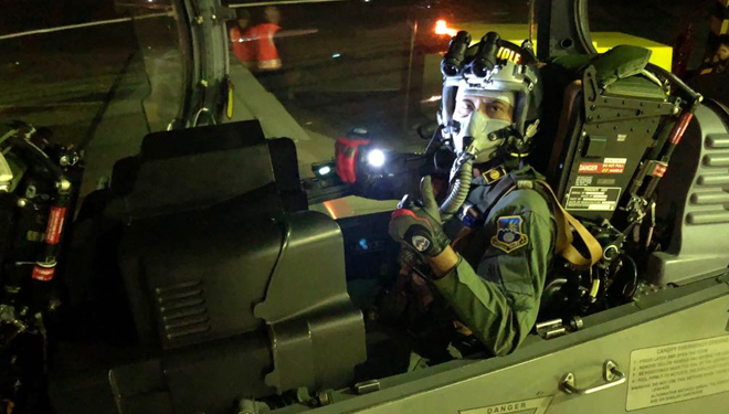 EMB-314 Supertucano Wing 2 Gelar Latihan Penembakan Malam