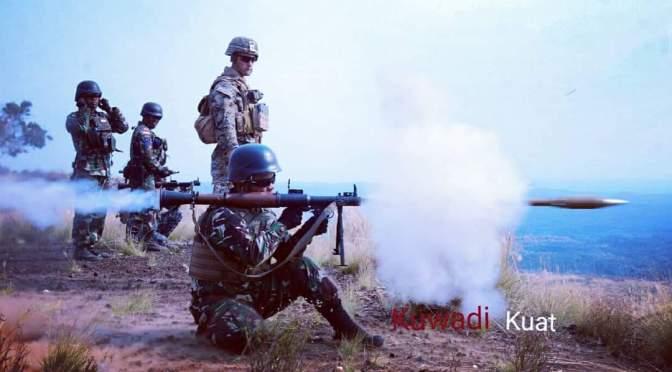 Marinir TNI AL Laksanakan Latihan Menembak Senjata Bantuan di Pusat Latihan Militer US Army