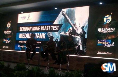 Seminar Mine Blast Test PT Pindad (SM)