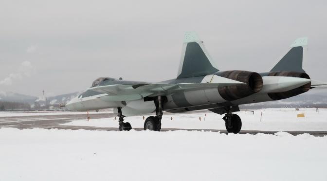 Angkatan Udara Rusia Segera Terima Jet Tempur Siluman Su-57