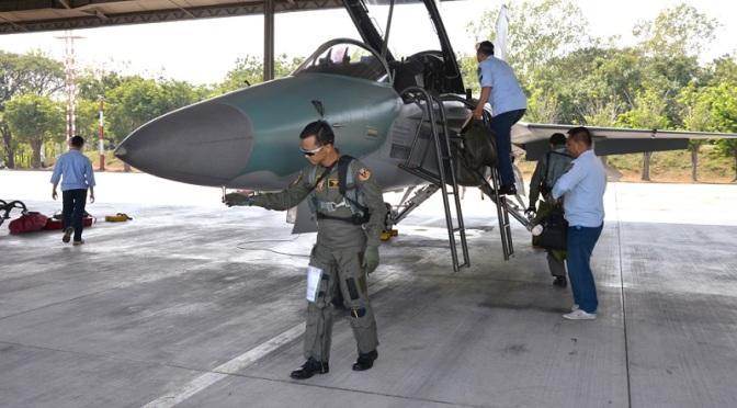 T-50i Golden Eagle Laksanakan Misi Operasi di Ambalat