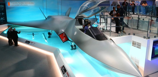 Inggris Perkenalkan Model Jet Tempur 'Tempest' Terbaru