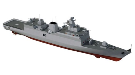 The basic ship design is based on GRSE_s Project 28 anti-submarine warfare corvette in service with the Indian Navy. (Withheld)