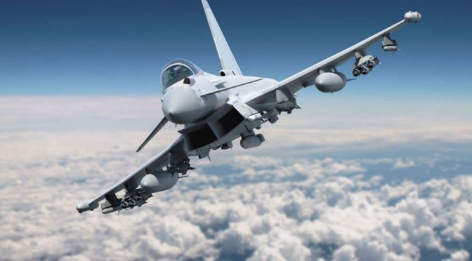 RAF Menerima Typhoon 'Centurion' Pertama Sebelum Tornado Pensiun