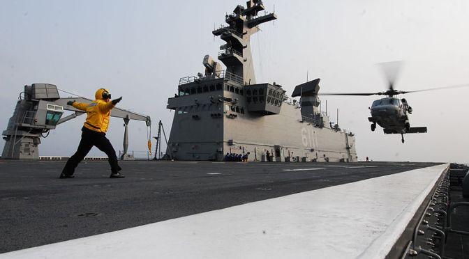 Korea Berupaya Naikkan Anggaran Angkatan Laut