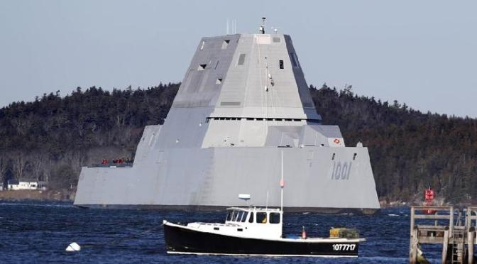 USS Michael Monsoor Rusak Selama Uji Coba