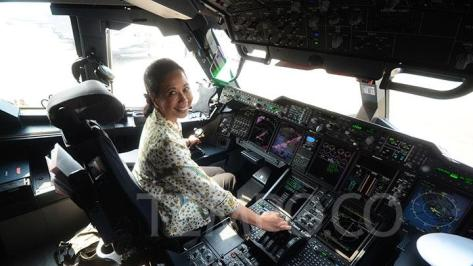 A400M di Landasan Udara Halim Perdanakusuma, Jakarta, Selasa, 21 Agustus 2018 dalam misi Pegasus 2018. (Tempo)