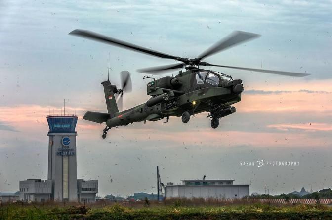 Satu-satunya Wanita Indonesia di Pelatihan Helikopter Canggih di AS