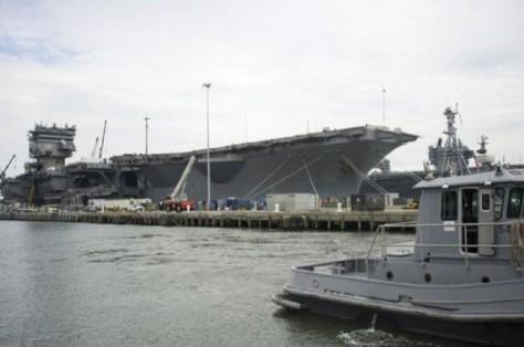 Armada Kedua akan berbasis Norfolk, Virginia. (AFP - Getty)