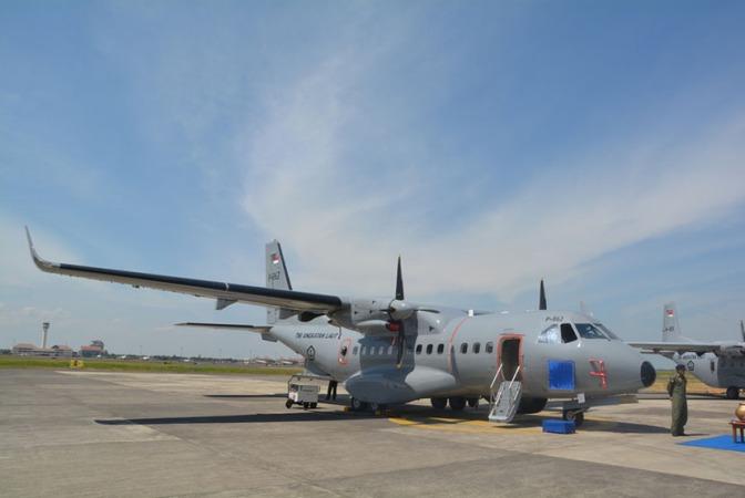 PT DI Kembangkan Varian Gunship dari Pesawat CN-235