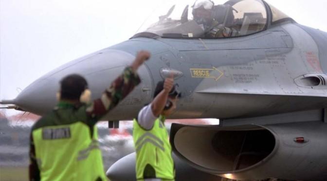 F-16 Tiba di Bali Usai Ikuti Pitch Black 2018 di Australia