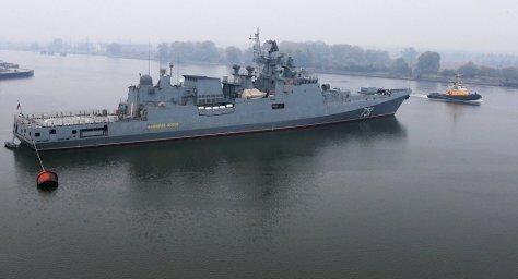 Kapal perang Rusia Admiral Essen (Sputnik)