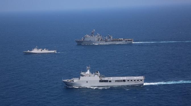 TNI AL dan US Navy Gelar Latihan Bersama di Laut Jawa