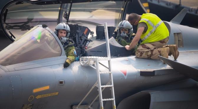 """""""Sioux"""" dan """"Beagle"""" Jajal Dassault Rafale yang Tampil Superior di Pitch Black 2018"""