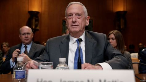 Menhan AS James Mattis (Reuters)