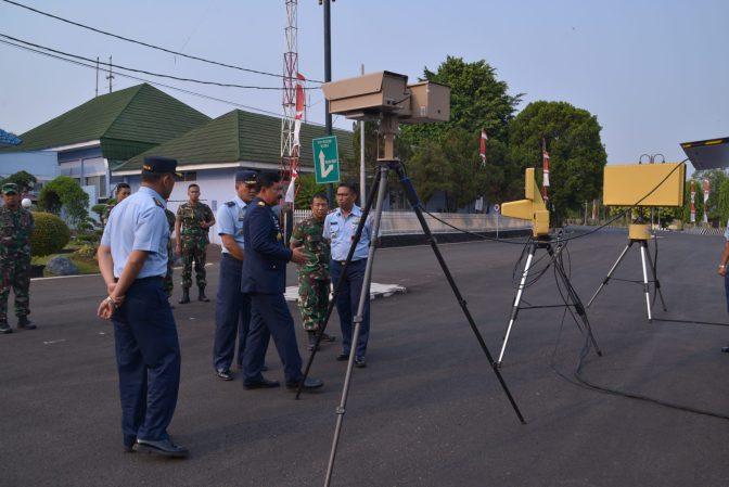 Panglima TNI Tinjau Peralatan Antidrone Milik Kohanudnas