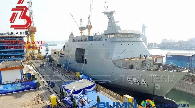 PT PAL Luncurkan LPD 124M Pesanan TNI AL