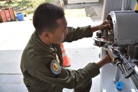 Pemeriksaan Khusus 50 Jam Terbang Heli Panther HS-4204 (Puspenerbal) 2