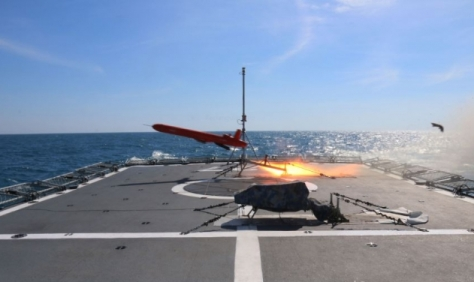 PLA Naval Vessels have shot down anti-ship missiles as part of missile-interception live-fire exercises in the East China Sea last week.