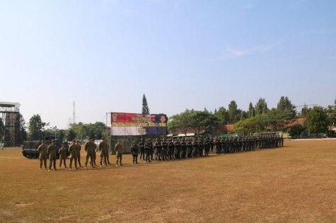Rhino Ausindo, Latma Yonif Mekanis Raider 411 Kostrad dan AD Australia 1