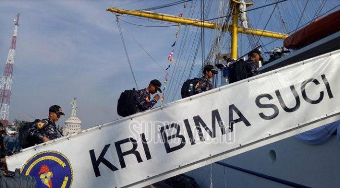 Sail Regatta Vladivostok Rusia dan IFR Korea Selatan dengan KRI Bima Suci