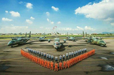 Skadron 2 Halim Perdana Kusuma CN 235 dan CN 295