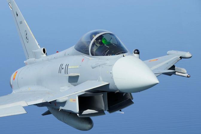 Jet Tempur Spanyol Tak Sengaja Tembakkan Rudal