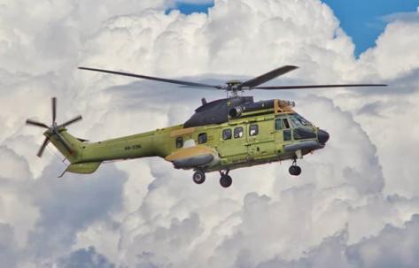 Super Puma dengan nomor registrasi HX-3315 (bimors)
