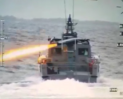 The Typhoon MLS-ER system for Spike-ER missiles, seen here on one of the Philippine Navy_s Mk III MPAC. Philippine Navy 1